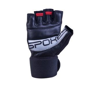 Fitness rękawice Spokey TORO II czarno-czerwone, Spokey