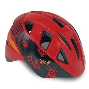 Dziecięca rowerowa kask Spokey CHERUB czerwona, 44-48 cm, Spokey