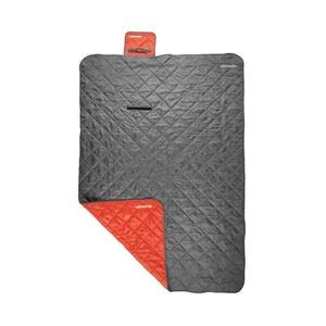 Śpiwór worek Spokey CANYON 200x140 cm, koc, szary / czerwony, Spokey