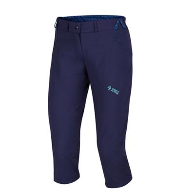 Na wolnym powietrzu spodnie IRIS Lady 3/4 indygo / mentol, Direct Alpine