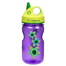 Butla Nalgene Grip'n Gulp 350ml 2182-2112 purple sea żółwie, Nalgene
