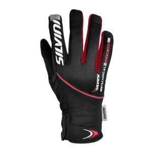 Męskie rękawice Silvini ORTLES MA722 black-red, Silvini