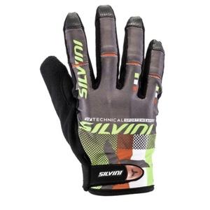 Męskie rękawice Silvini TEAM MA850 green, Silvini