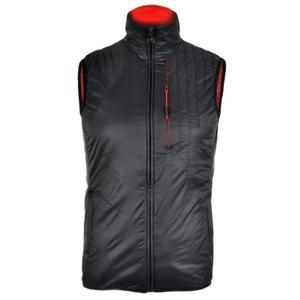 Męska kamizelka Silvini TICINO MJ1104 black-red, Silvini