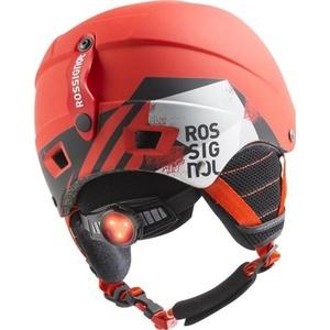 Narciarska kask Rossignol Comp J red-led  RKFH504, Rossignol