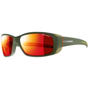 Przeciwsłoneczna okulary Julbo MONTEBIANCO SP3 CF army / camel / orange, Julbo