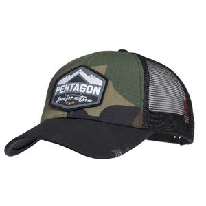 Czapka z daszkiem Era Trucker Born for action PENTAGON® USA woodland, Pentagon