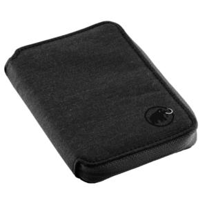 Portfel MAMMUT Zip Wallet mélange Black 0001, Mammut
