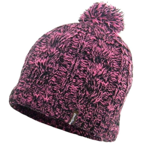 czapka DexShell Beanie Cable PomPom Pink, DexShell