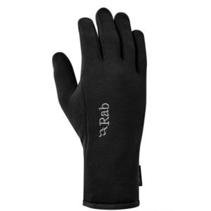 Rękawice Rab Power Stretch Contact Glove black/BL, Rab