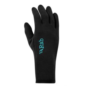 Rękawice Rab Power Stretch Contact Glove Women's black/BL, Rab