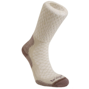 Skarpety Bridgedale Hike Lightweight Merino Comfort Boot Women's sand/929, bridgedale