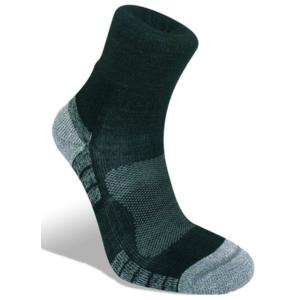 Skarpety Bridgedale Hike Lightweight Merino Performance Ankle black/silver/822, bridgedale