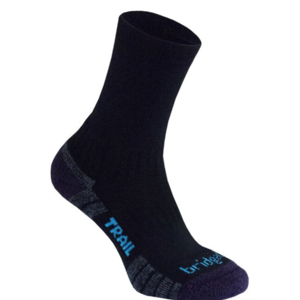 Skarpety Bridgedale Hike Lightweight Merino Performance Boot Women's black/purple/016, bridgedale
