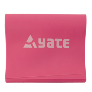Fitband Yate 200x12cm średnio stały/czerwony, Yate