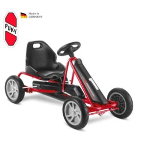 Dziecięca do pedałowania pojazd PUKY Go Cart F 20 czarny / czerwony, Puky