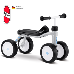 czterokołowy rowerek PUKY lino jasnoszary, Puky