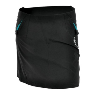 Damska rowerowa spódnica Silvini INVIO WS859 black-turquoise, Silvini