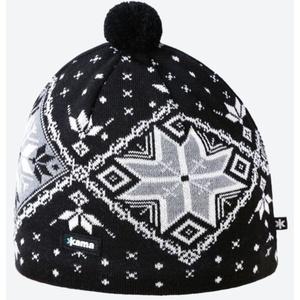 Dzianinowy Merino czapka Kama A138 110