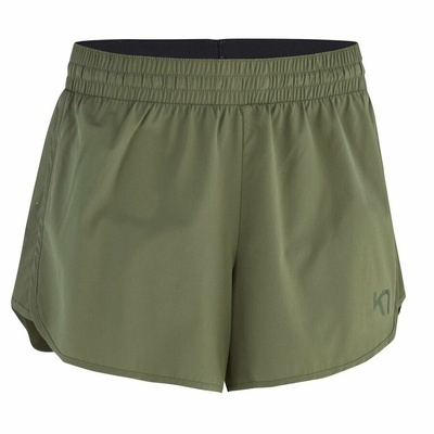 Damskie spodenki funkcyjne Kari Traa Nora shorts 622838, zielony, Kari Traa