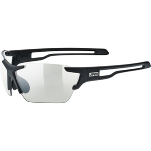 Sportowe okulary Uvex SPORTSTYLE 803 VARIO, Black Mat (2201), Uvex
