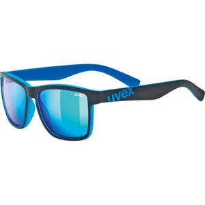 Przeciwsłoneczna okulary Uvex LGL 39 Black Mat Blue (2416), Uvex