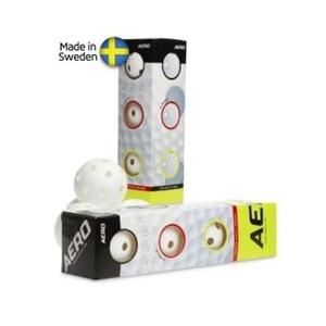 Zestaw unihokejowych piłeczek Salming Aero Ball 4-pack White