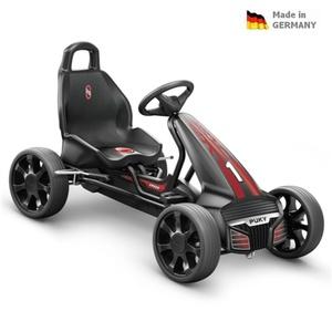 Dziecięca do pedałowania pojazd PUKY Go Cart Air F 550 czarny / czerwony, Puky