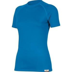 Merino koszulka Lasting ALEA 5151 niebieskie wełniane, Lasting