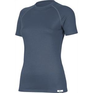 Merino koszulka Lasting ALEA 5656 niebieskie wełniane, Lasting