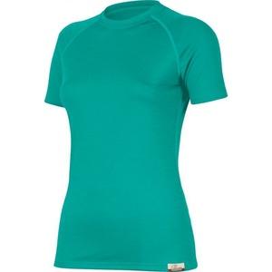 Merino koszulka Lasting ALEA 6565 turkusowe wełniane, Lasting