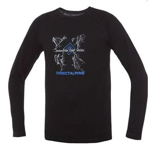 Koszulka Direct Alpine Furry Long black (activity), Direct Alpine