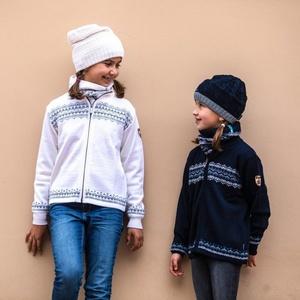 Dziecięcy Merino sweter Kama 1011 100, Kama