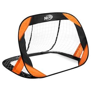 Samorozkładalny piłka nożna bramka Spokey HASBRO BUCKLER  Nerf 2 szt. czarno-pomarańczowy, Spokey