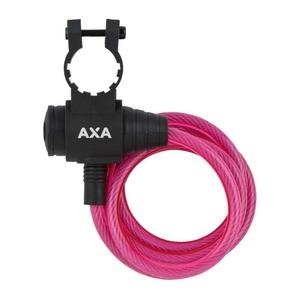 Zamek AXA Rigid 120/8 klucz różowy 59713096SC, AXA