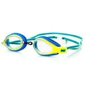 na basen okulary Spokey KOBRA niebiesko-żółty, Spokey