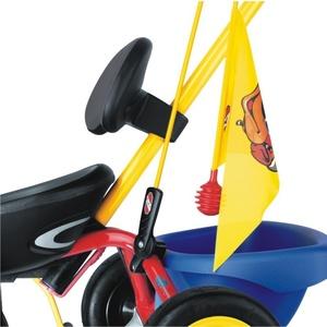 dla bezpieczeństwa flaga do rowerka trzykołowego i do pedałowania gokarty PUKY 9313, Puky