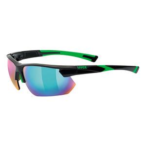 Sportowe okulary Uvex SPORTSTYLE 221, Black Green (2716), Uvex