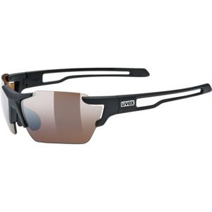 Sportowe okulary Uvex SPORTSTYLE 803 SMALL CV (ColorVision), Black Mat (2291), Uvex