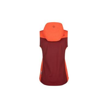 Softshell damski kamizelka Kilpi CORTINA-W ciemno czerwony, Kilpi