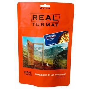 Real Turmat Dorsz do śmietanie z ziemniakami, 108 g, Real Turmat