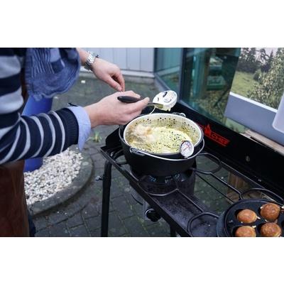 żeliwny garnek Camp Chef 30 cm z pokrywką i koszem, Camp Chef