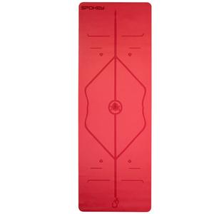 Gumowa podkładka do ćwiczenia Spokey JUDY czerwona 1,5 cm, Spokey