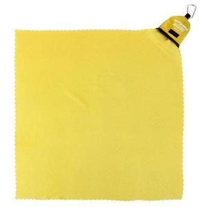 Szybkoschnący ręcznik Spokey NEMO 40x40 cm żółty z karabinouu, Spokey