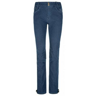 Damskie spodnie outdoorowe Kilpi DANNY-W ciemny niebieski, Kilpi