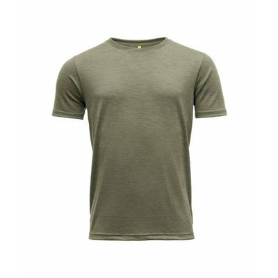 Koszulka wełniana męska z krótkim rękawem Devold Eika GO 181 280 B 404A zielona, Devold