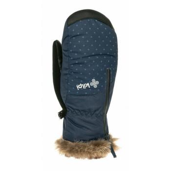 Rękawiczki narciarskie damskie Kilpi DEBBY-W ciemny niebieski