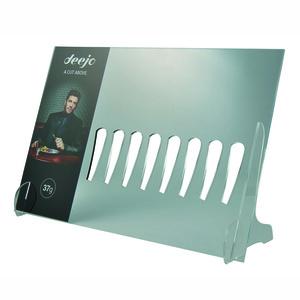 Stojak Deejo DEE052 POS pleksiglas do 8ks scyzoryków nożów Deejo
