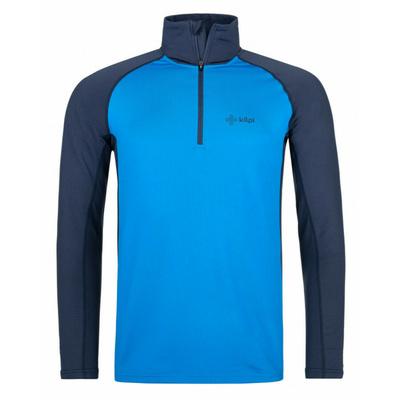 Męska koszula funkcyjna długi rękaw Kilpi WILLIE-M niebieski, Kilpi