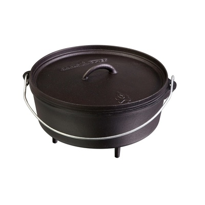 Universalny żeliwna garnek Camp Chef Classic Dutch Oven 40 cm z pokrywką, Camp Chef